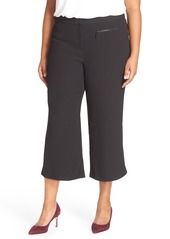 Vince Camuto Zip Pocket Culottes (Plus Size)