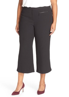 Vince Camuto Zip Pocket Culottes (Plus Size)