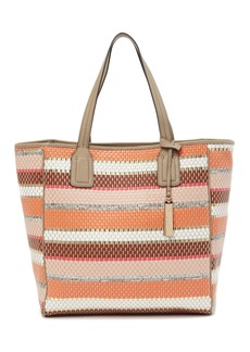 Vince Camuto Winsl Leather Trimmed Tote