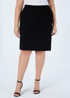 Vince Camuto Women's Plus Size Midi Skirt