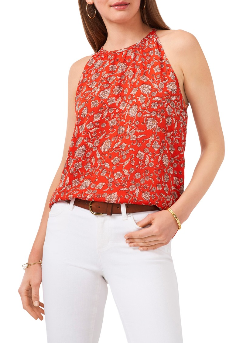Women's Vince Camuto Floral Sleeveless Blouse