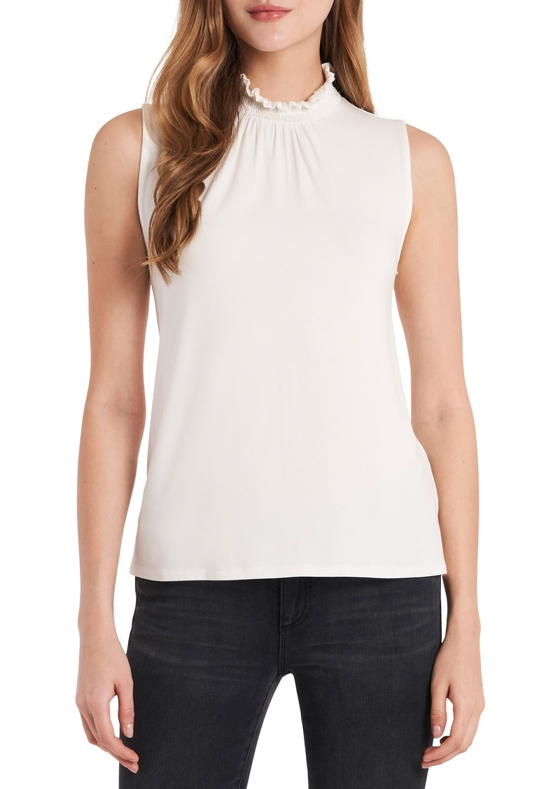 Women's Vince Camuto Smocked Neck Sleeveless Top