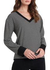 Women's Vince Camuto Stripe Long Sleeve Top