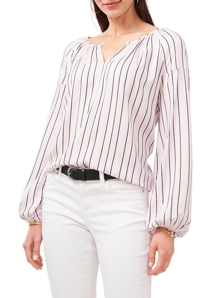 Women's Vince Camuto Stripe Peasant Blouse