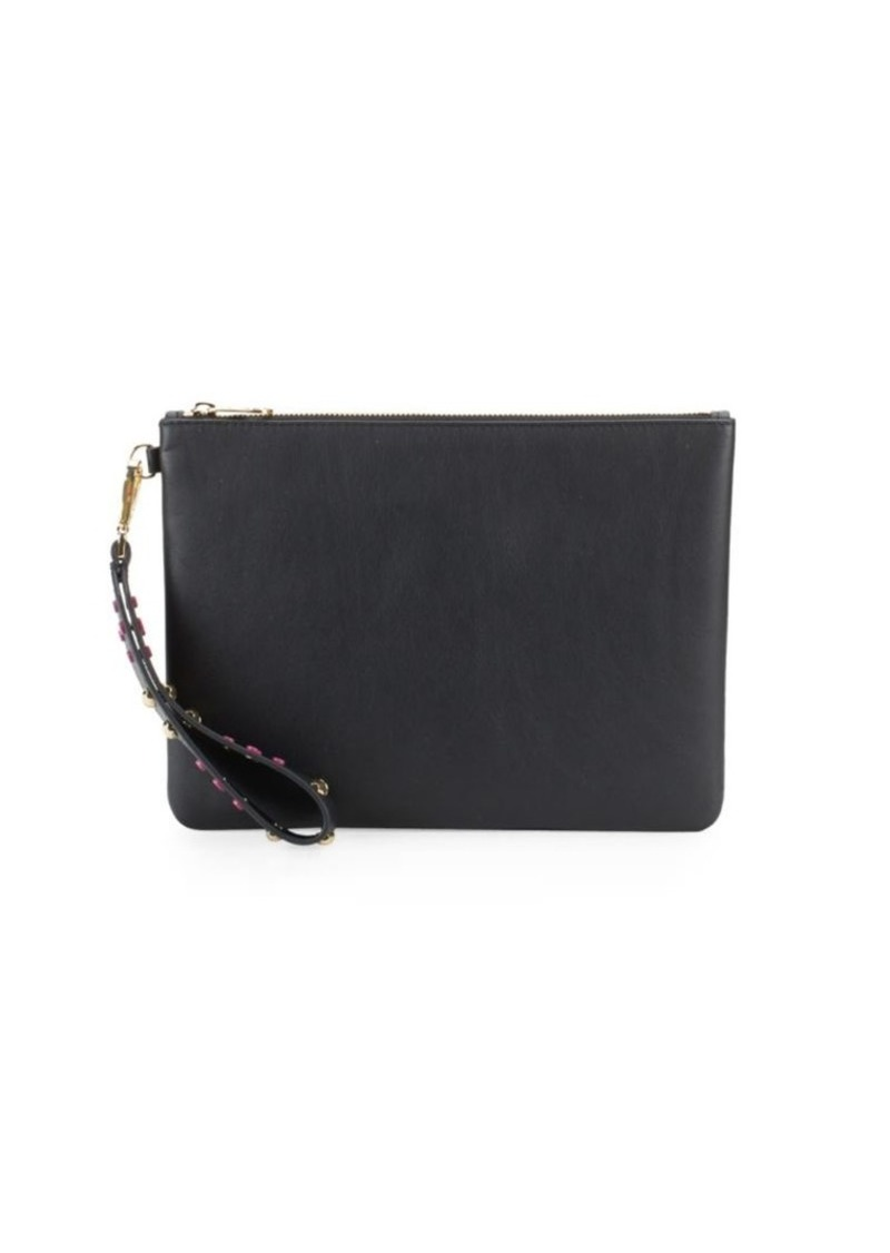 Vince Camuto Wristlet Leather Pouch