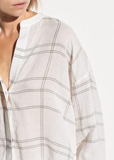 Vince Carpenteria Plaid Full Sleeve Shirt