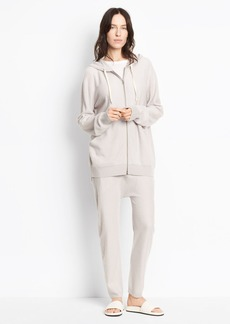 Cashmere Cropped Slouch Jogger