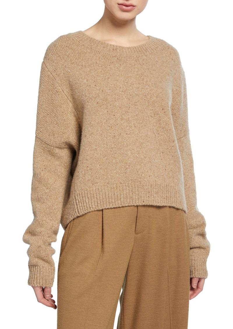 Vince Cashmere Double-Seam Sweater