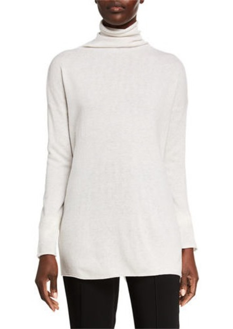 Vince Cashmere Long Turtleneck Sweater