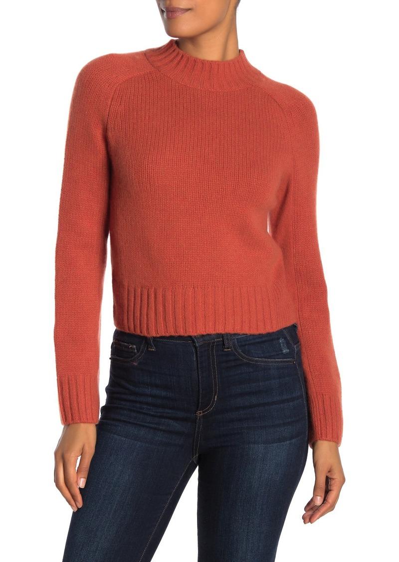 Vince Cashmere Mock Neck Sweater