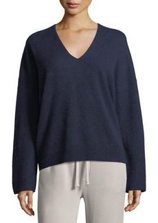 Vince Cashmere Oversized V-Neck Sweater