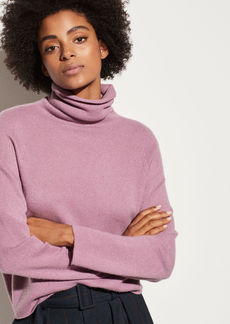 Vince Cashmere Seamless Turtleneck