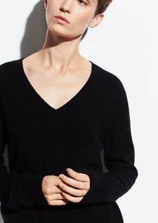 Vince Cashmere Weekend V-Neck