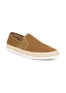 Vince Chad Slip-On Perforated Suede Espadrille Sneakers