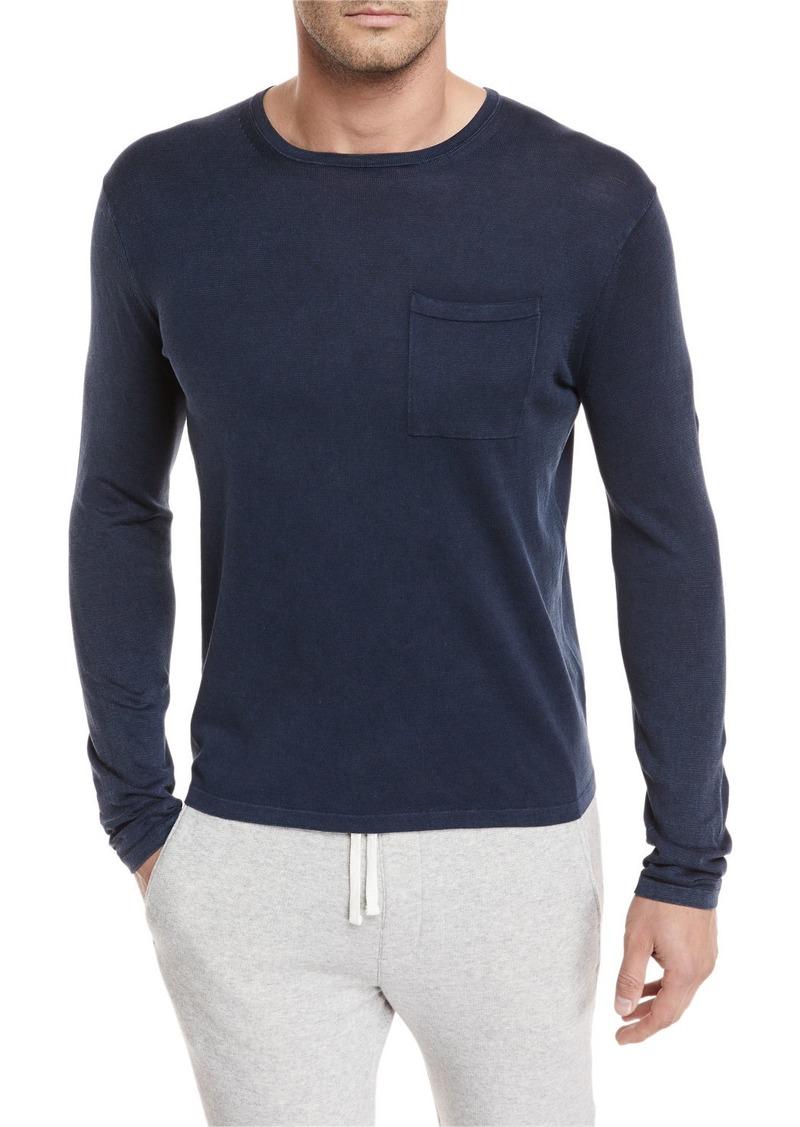 Vince Chest-Pocket Long-Sleeve T-Shirt
