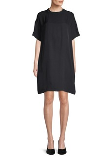 Vince Classic Crewneck T-Shirt Dress