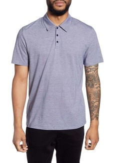 Vince Classic Fit Pinstripe Polo