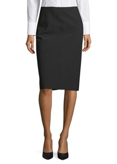 Vince Classic Pencil Skirt