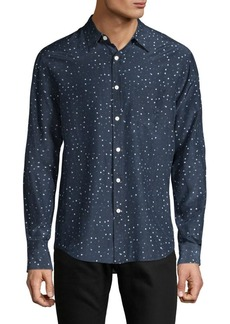 Vince Classic Printed Shirt
