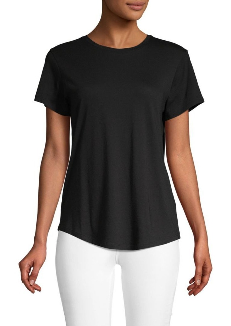 Vince Classic Short-Sleeve Top