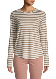 Vince Classic Striped Top