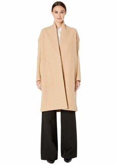 Vince Collarless Long Coat