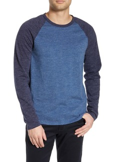 Vince Colorblock Long Sleeve T-Shirt
