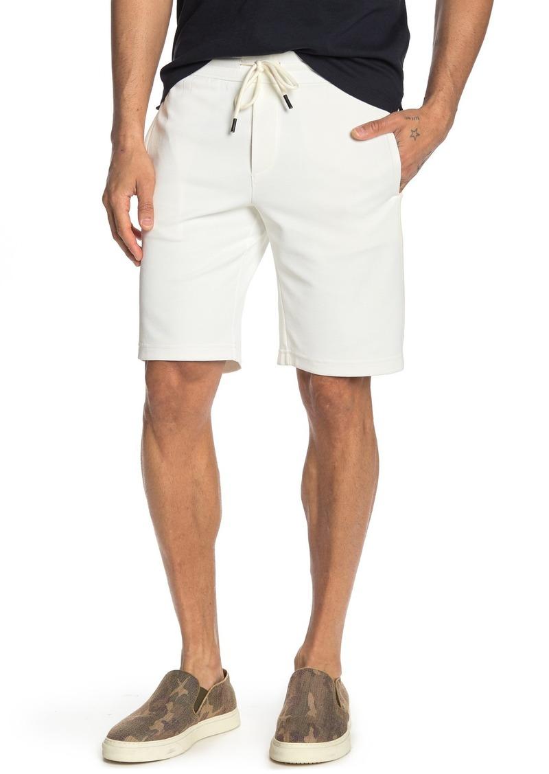Vince Colorblock Stripe Drawstring Shorts