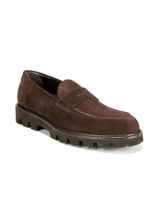 Vince Comrade Suede Loafers