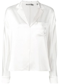 Vince concealed fastening blouse