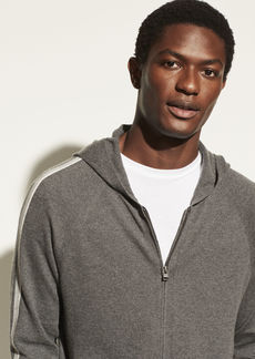 Vince Cotton Cashmere Full Zip Hoodie