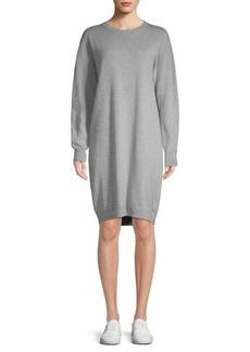 Vince Cotton Crew Sweater Dress