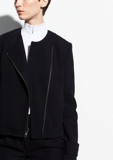 Vince Cotton Cross Front Jacket