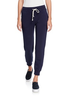 Vince Cotton Drawstring Jogger Pants