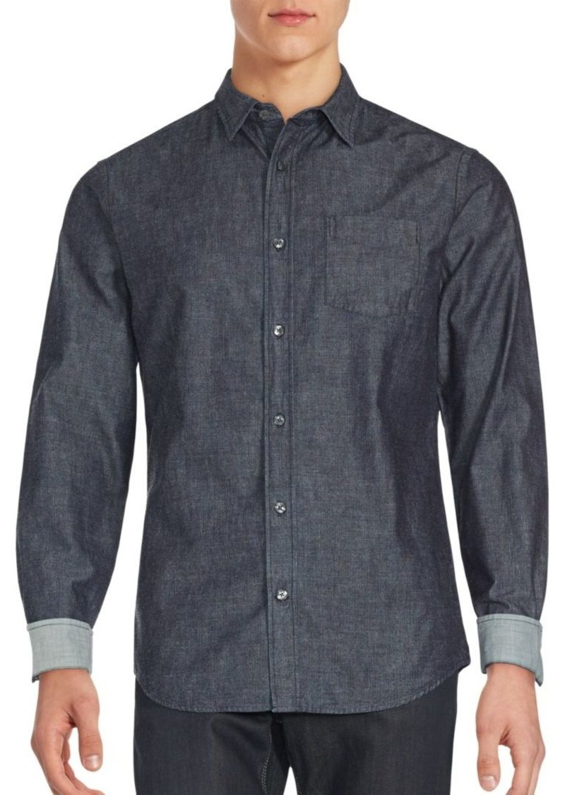 Vince Cotton Long Sleeve Shirt