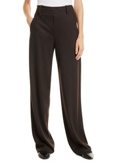 Vince Cozy Wide-Leg Wool-Blend Pants