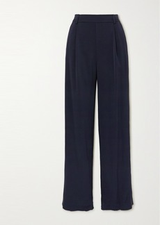 Vince Crepe Wide-leg Pants