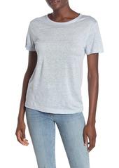 Vince Crew Neck Linen T-Shirt