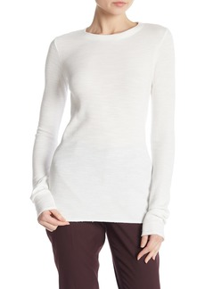 Vince Crew Neck Long Sleeve Thermal Shirt