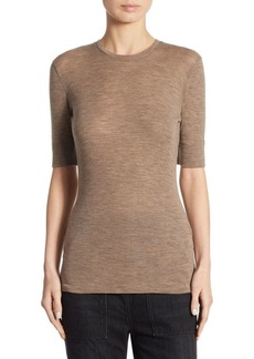 Vince Crewneck Wool Top
