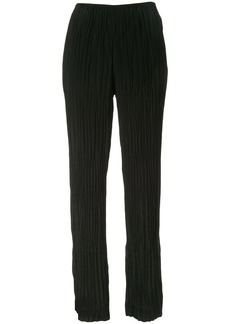 Vince crinkle pleat trousers