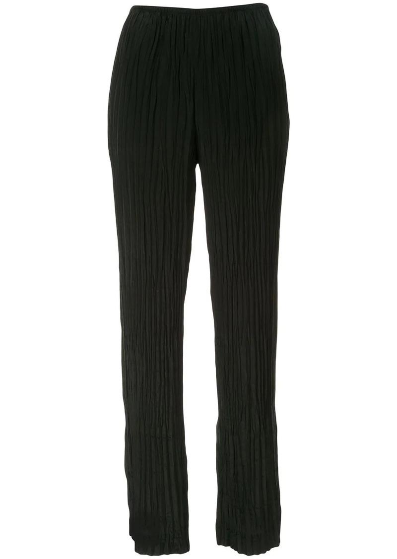 Vince crinkle pleat trousers