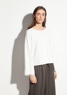 Vince Cropped Cotton Crew