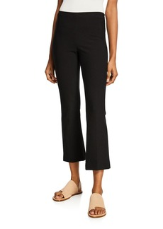 Vince Cropped Flared-Leg Pants