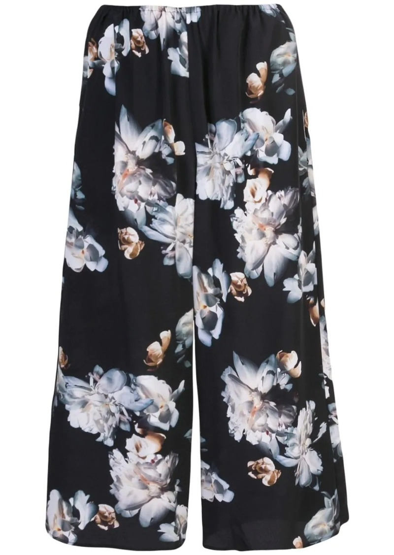 Vince cropped floral trousers