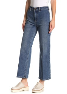 Vince Cropped High Rise Jeans