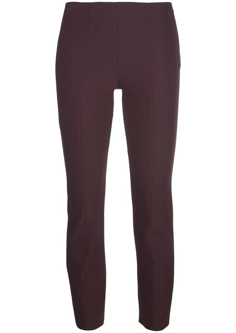 Vince cropped slim fit trousers