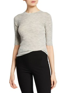 Vince Cropped Wool Sweater