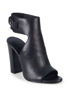 Vince Cut-Out Booties