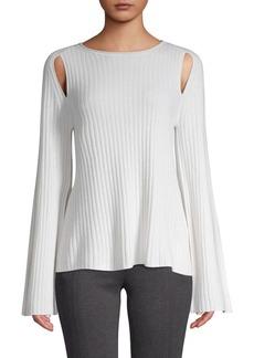 Vince Cutout Cashmere Sweater